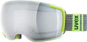 Lime Green Ski Goggles