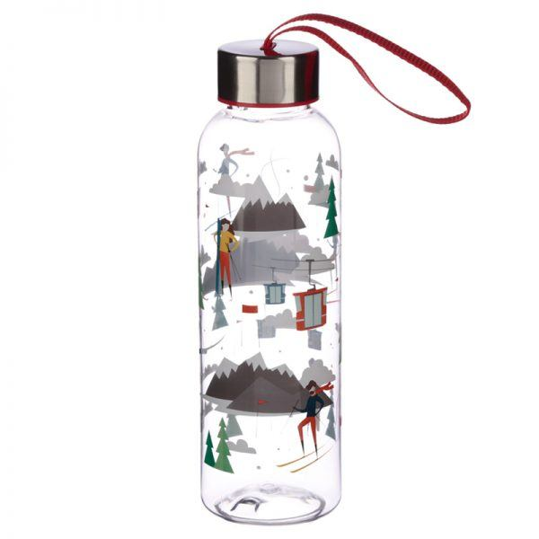 Peak Ski & Snowboard Theme Water Bottle