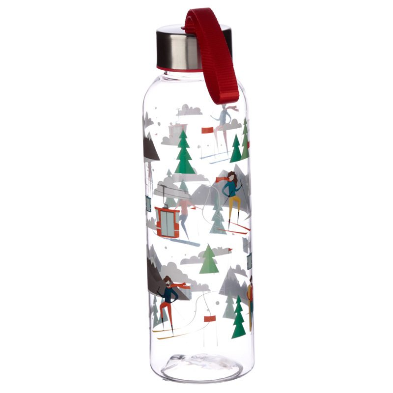 ski design water bottle