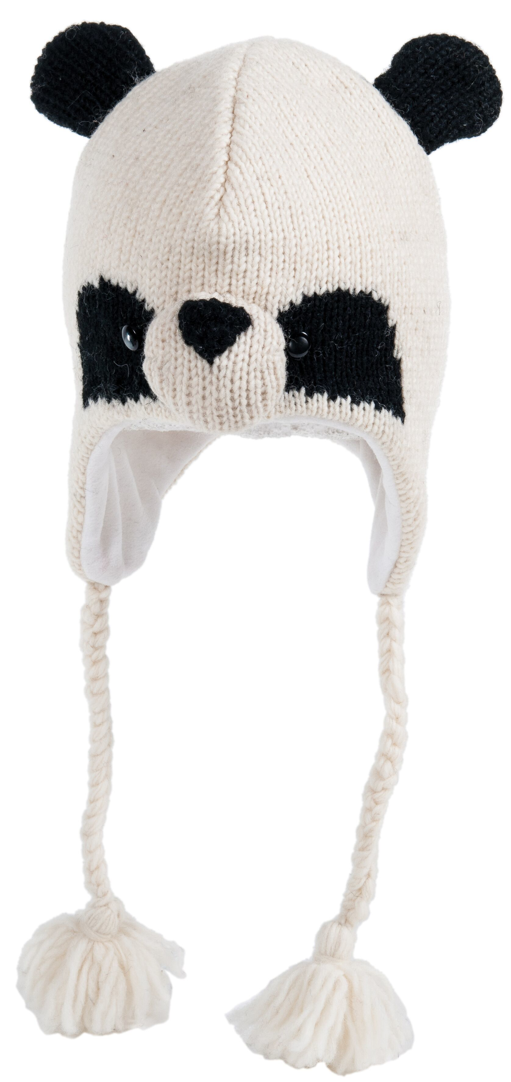 cute panda knitted hat
