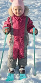 Kids First Skis & Poles Age 2 - 4