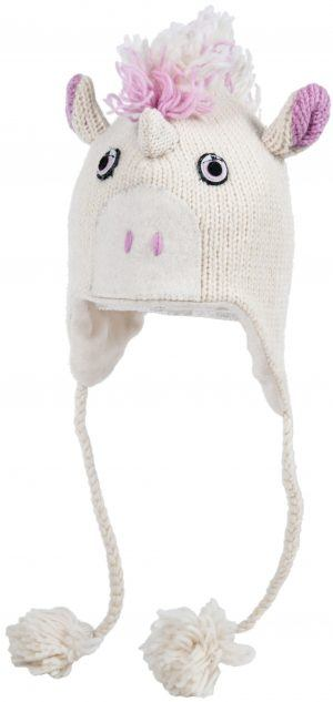 cute unicorn knitted hat