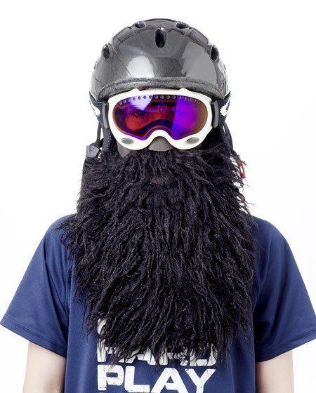 black pirate ski mask