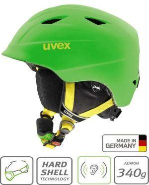 uvex ski helmet green