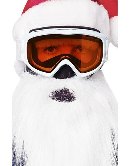 santa ski mask