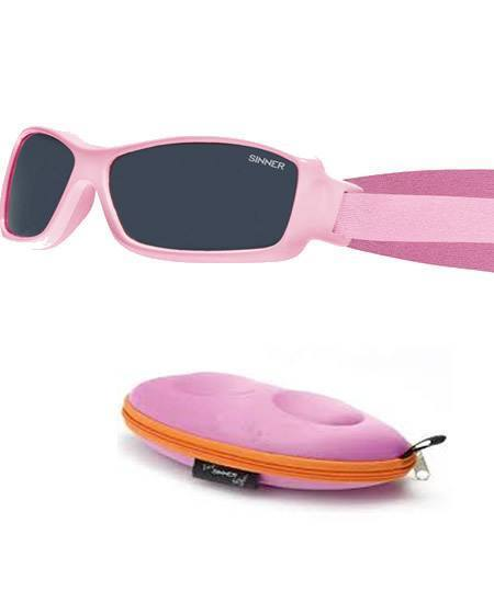 Sinner Junior Bambino Pink Sunglasses