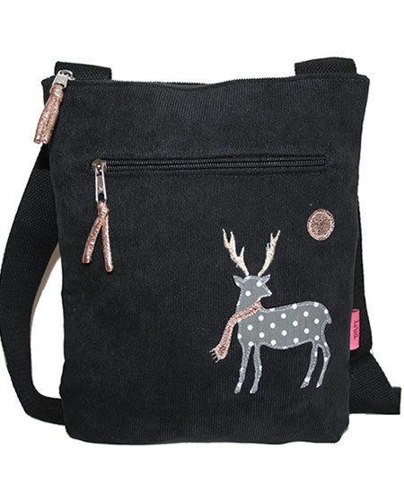 Deer cross body bag