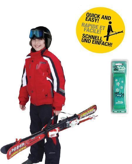 childs snow ski carrier strap