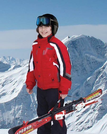 kids ski carrier