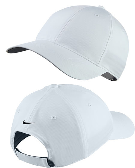 nike white golf cap