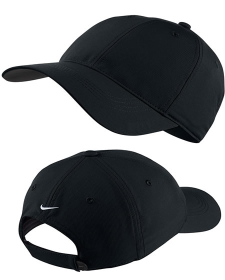 nike black gold cap