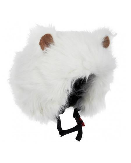 polar bear ski helmet cover