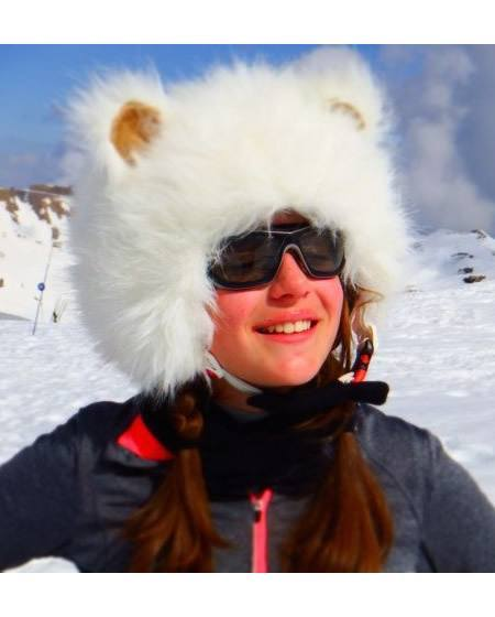 Polar Bear Ski Helmet Cover-3103