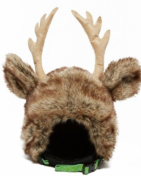 reindeer ski helmet cover
