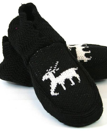 Reindeer slipper boots