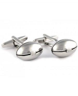 rugby ball cufflinks