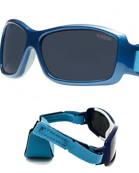 Sinner Junior Bambino Metalic Blue Sunglasses