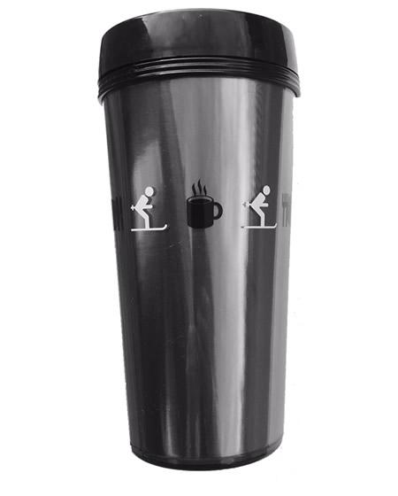 ski thermo travel mug
