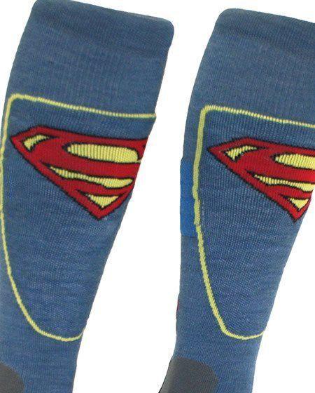 superman ski socks