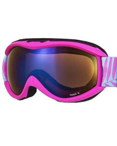 Junior Toxic Ski Goggles - Sinner Knockout Double Lenses