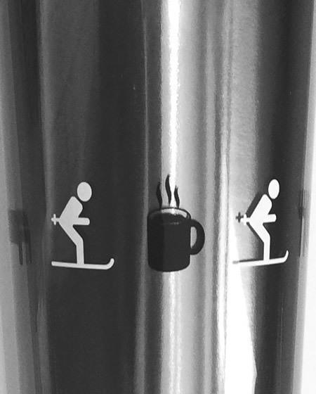 skiers mug