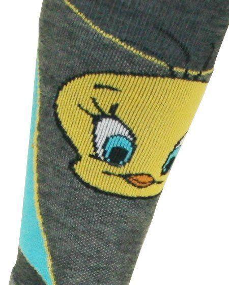 tweety pie ski socks
