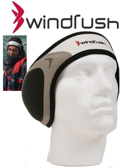 Windrush Noise Reducing Sports Headband Black-0