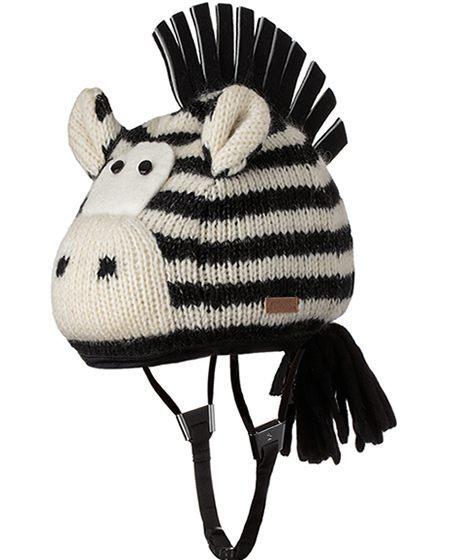 zebra helmet cover
